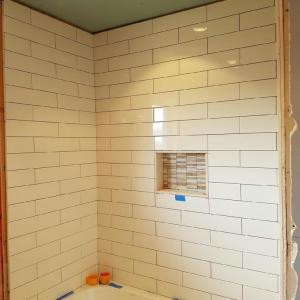 Shower Install Almost Complete